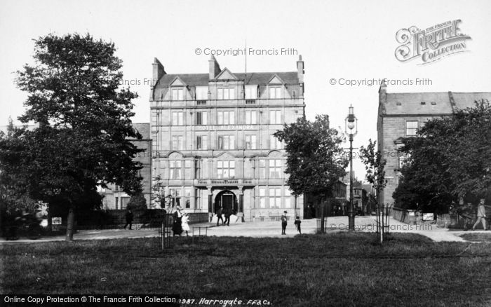 Photo of Harrogate, Hotel Alexandra 1902