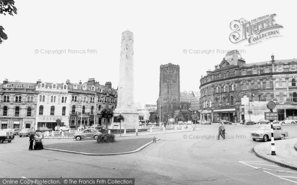 Photo of Harrogate, Main Square c1965, ref. H26231