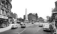 Harrogate, Parliament Square c.1965