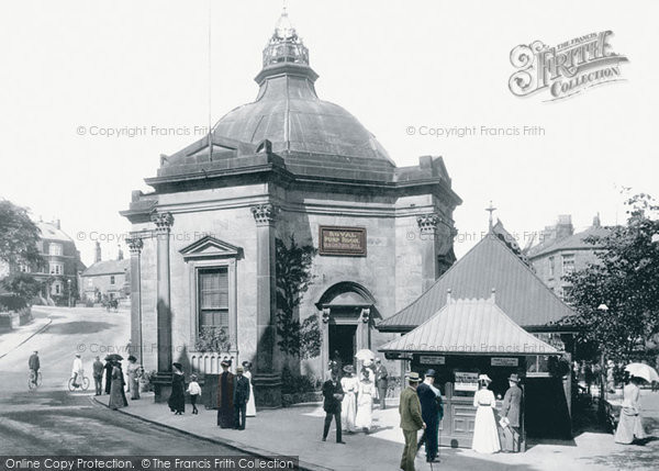 Harrogate, Royal Pump Room, Old Sulphur Well 1902