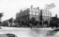 Harrogate, The Prince Of Wales Hotel c.1900