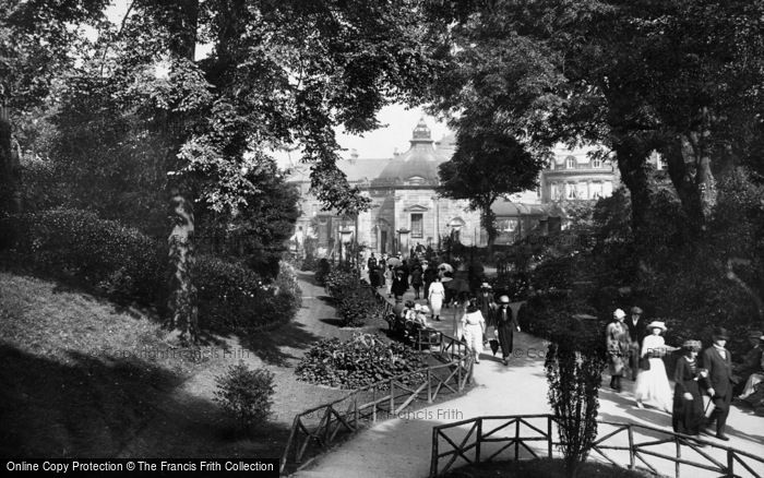 Photo of Harrogate, The Pump Room From Valley Gardens 1921