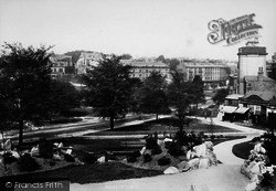Harrogate, The Stray From New Terrace 1897