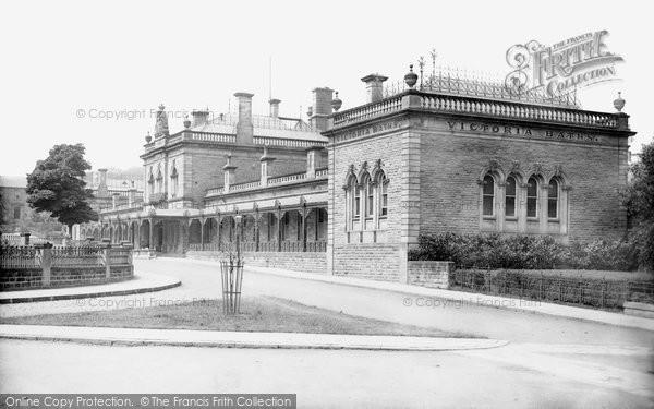 Photo of Harrogate, Victoria Baths 1888, ref. 20940