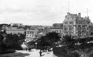 Harrogate, View From Prospect Hotel 1902