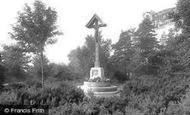 Harrogate, War Memorial On Harlow Moor 1921
