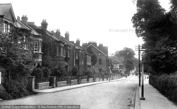 Photo Of Harrow On The Hill Bessborough Road 1906