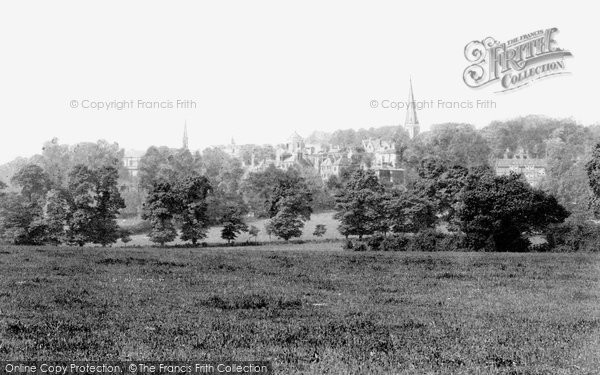 Photo Of Harrow On The Hill From Watford Road 1906
