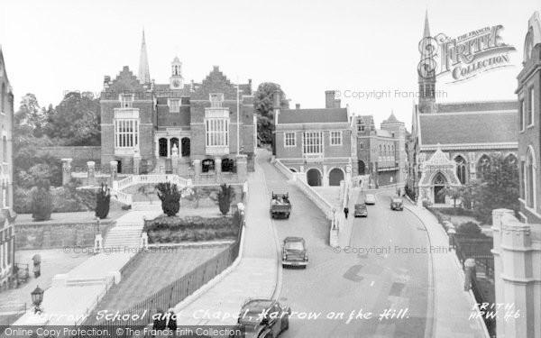Photo Of Harrow On The Hill Harrow School And Chapel