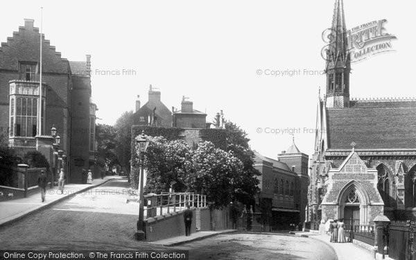 Photo Of Harrow On The Hill Harrow Schools 1906