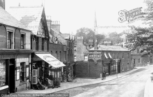 Photo Of Harrow On The Hill High Street 1906