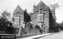 Harrow On The Hill, Old School House 1906