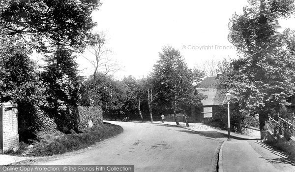 Photo Of Harrow On The Hill Peterboro Road 1906