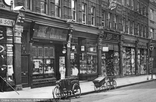 Photo Of Harrow On The Hill Shops In Station Road 1914