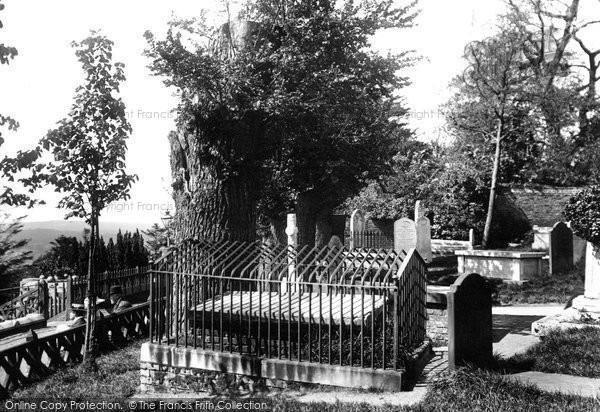 Photo of Harrow On The Hill, St Mary's Church, The Peachey Tomb And The Elm 1906