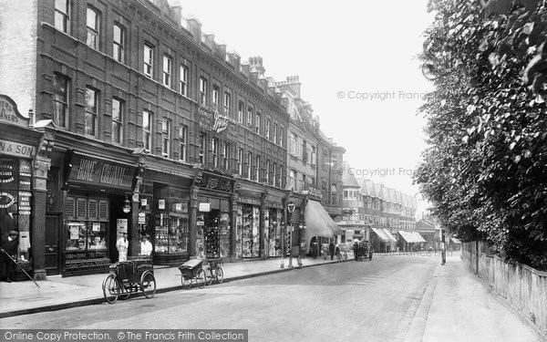 Photo Of Harrow On The Hill Station Road 1914