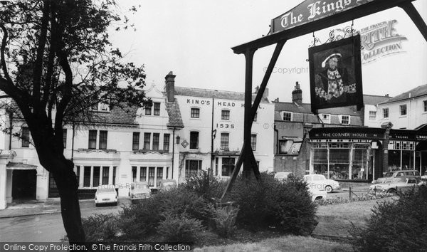 Photo Of Harrow On The Hill The Kings Head Hotel C 1960
