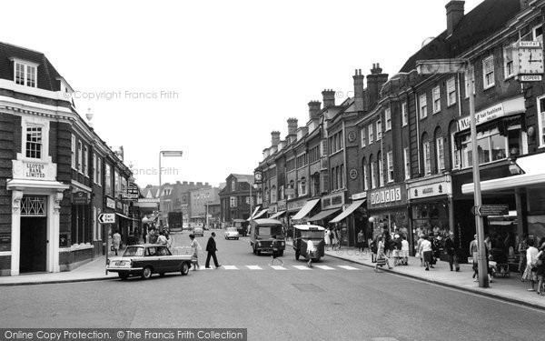 Photo of Harrow, Station Road 1966