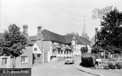 Hartfield, Anchor Hotel And Church Street c.1960