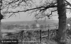 Ashdown Forest From The East Grinstead Road c.1955, Hartfield
