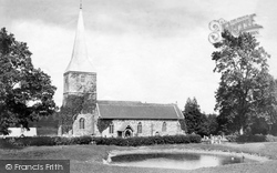Hartfield, Church Of St Mary The Virgin 1906