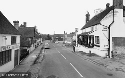 Hartfield, High Street And The Dorset Arms c.1965