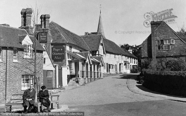 Photo of Hartfield, High Street c.1950