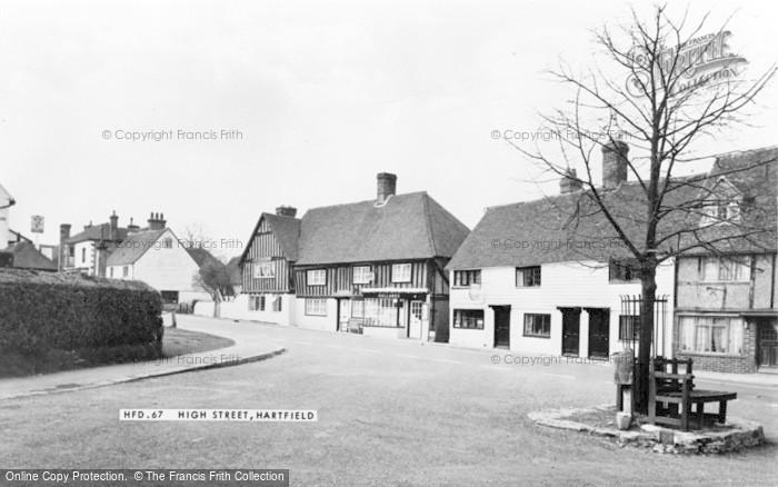 Photo of Hartfield, High Street c.1965