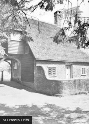 Hartfield, Lychgate And Church c.1950