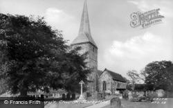 St Mary's Church c.1955, Hartfield