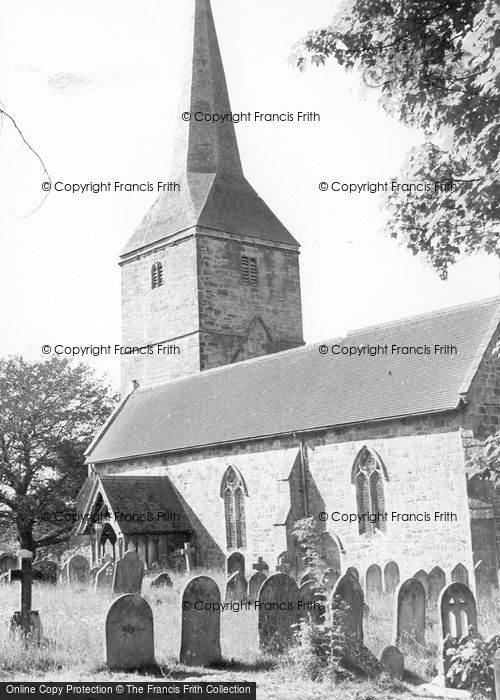 Photo of Hartfield, St Mary's Church c.1960
