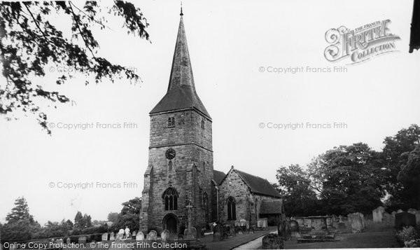 Photo of Hartfield, St Mary's Church c.1960