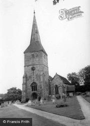 St Mary's Church c.1960, Hartfield