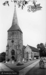 Hartfield, St Mary's Church c.1960