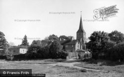 St Mary's Church From The Green c.1960, Hartfield