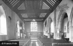 Hartfield, St Mary's Church Interior c.1955