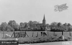 The Church And School c.1950, Hartfield