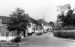 Hartfield, The Dorset Arms c.1965