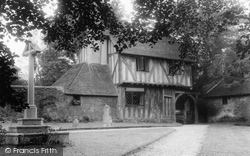 Hartfield, The Lychgate c.1955