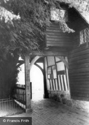 The Lychgate c.1965, Hartfield