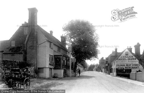 Photo of Hartfield, The Village 1906