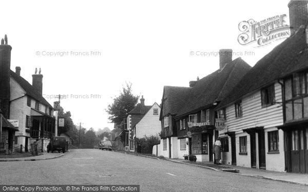 Photo of Hartfield, The Village c.1955