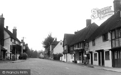 Hartfield, The Village c.1955