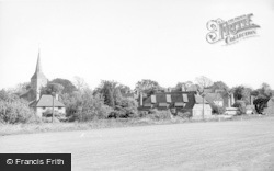 Hartfield, The Village From The Cricket Field c.1960