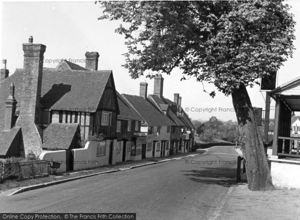Photo of Hartfield, The Village From The Dorset Arms c.1950