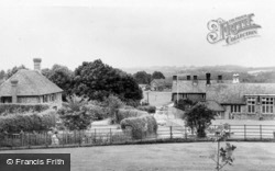 View From The Church c.1960, Hartfield