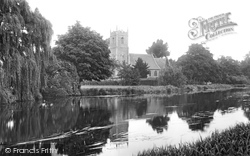 River Ouse And All Saints Church 1907, Hartford