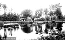 River Ouse And Anchor Inn 1907, Hartford