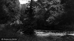 Hartington, Beresford Dale c.1955