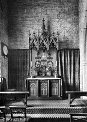 Hartland, Church, The Reredos 1929